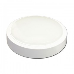 Plafonnier Rond Surface LED Thermoplastic 8/12/24W - 6000/4500/2800°K - 640/900/1800 Lms