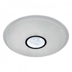 Plafonnier en verre matte Blanc Sparkle LED - 40W - 2800 Lms