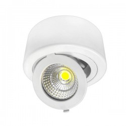 Downlight Rond Surface COB LED - 12W - 960 Lms