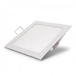 Mini Panel Square Recessed - 3/6/12/18/24W - 195/390/780/1170/1625 Lms