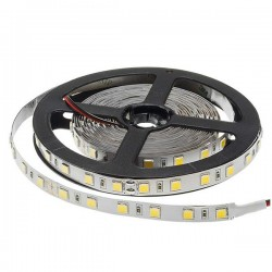 Led Strip 24V - 5054 - Non Etanche - 60 Smd/m 16 w/m Monochrome