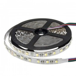 Led Strip 24V - 5050 - Etanche IP20 - 60 Smd/m 6w/m RGBW