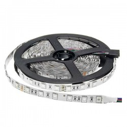 Led Strip 24V - 5050 - Non Etanche IP20 - 60 Smd/m 14.4w/m RGB