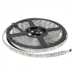 Led Strip 24V - 5050 - Etanche IP54 - 60 Smd/m 14.4w/m RGB