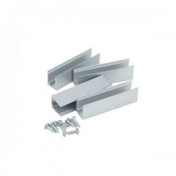 Rail aluminium pour Led Néon Flex 220V Rouleau de 50m - 2835 - IP44 - 120 smd/3 8.5w/m