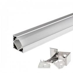 Profilé Alu pour Led Strips 18mm Angle 1m