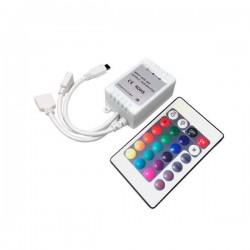 Controleur + Télécommande rubans RGB 16 buttons