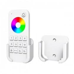 Socle télécommande blanche variable 4 zones