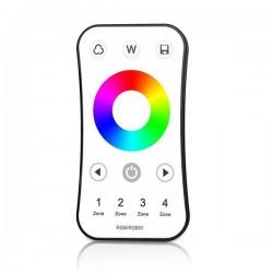 Télécommande blanche variable 4 zones RF RGB/RGBW