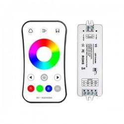 Controleur + Télécommande RGBW RF 2.4G 3CH 3x4A V3