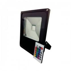 Projecteur RGB IP66 + Télécommande