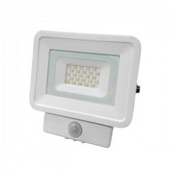 Projecteur Blanc avec Détection 10/20/30/50W IP65