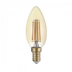 Source Filament LED Doré 4W E14 C35