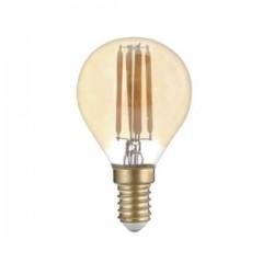 Source Filament LED Doré 4W E14 G45