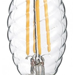 Source Filament LED 4W E14 C35 Bougie 2700°K