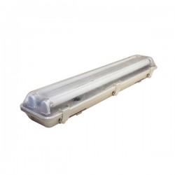 Réglette double pour Tube LED 22W - 150 cm