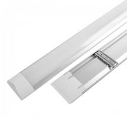 Réglette LED plate 20W - 60 CM - 6000/4500/3000°K - 1600 Lms