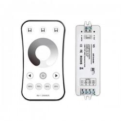Controleur + Télécommande Monocolor RF 2.4G 3CH 3x4A V3