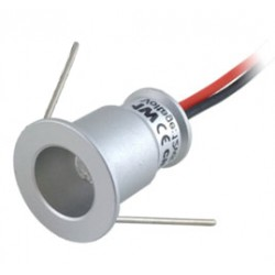 Mini led spotlight Ø20 mm 1W 4000°K 98 lm 30° IP65
