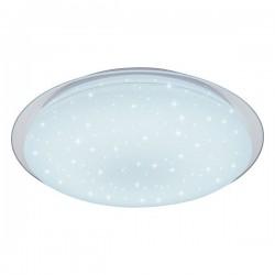 Plafonnier en verre Mate Blanc Sparkle LED - 40/60W - 2800/3900 Lms