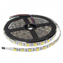 Led Strip 24V - 5025 - Etanche IP65 - 60 Smd/m 16w/m 3000-6000°K