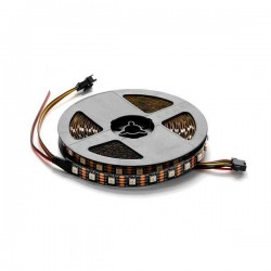 ADRESSABLE Led Strip 5V -WS2812b - Non Etanche - 60 Smd/m 16w/m RGB