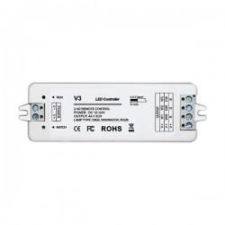 Controleur Led RGB/RGBW RF 3 canaux 3x4A