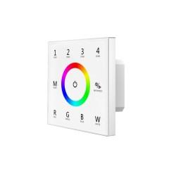 Contrôleur mural LED RGBW DMX + commande intégré
