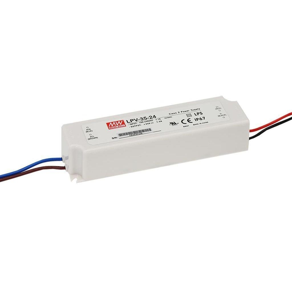 Alimentation Led Mean Well 15Vdc 35W IP67