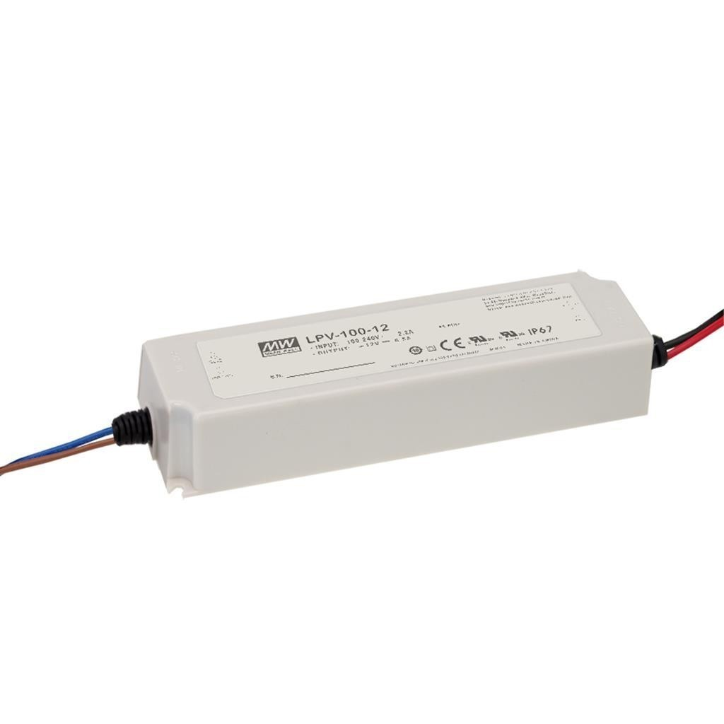 Alimentation Led Mean Well 12Vdc 100W IP67