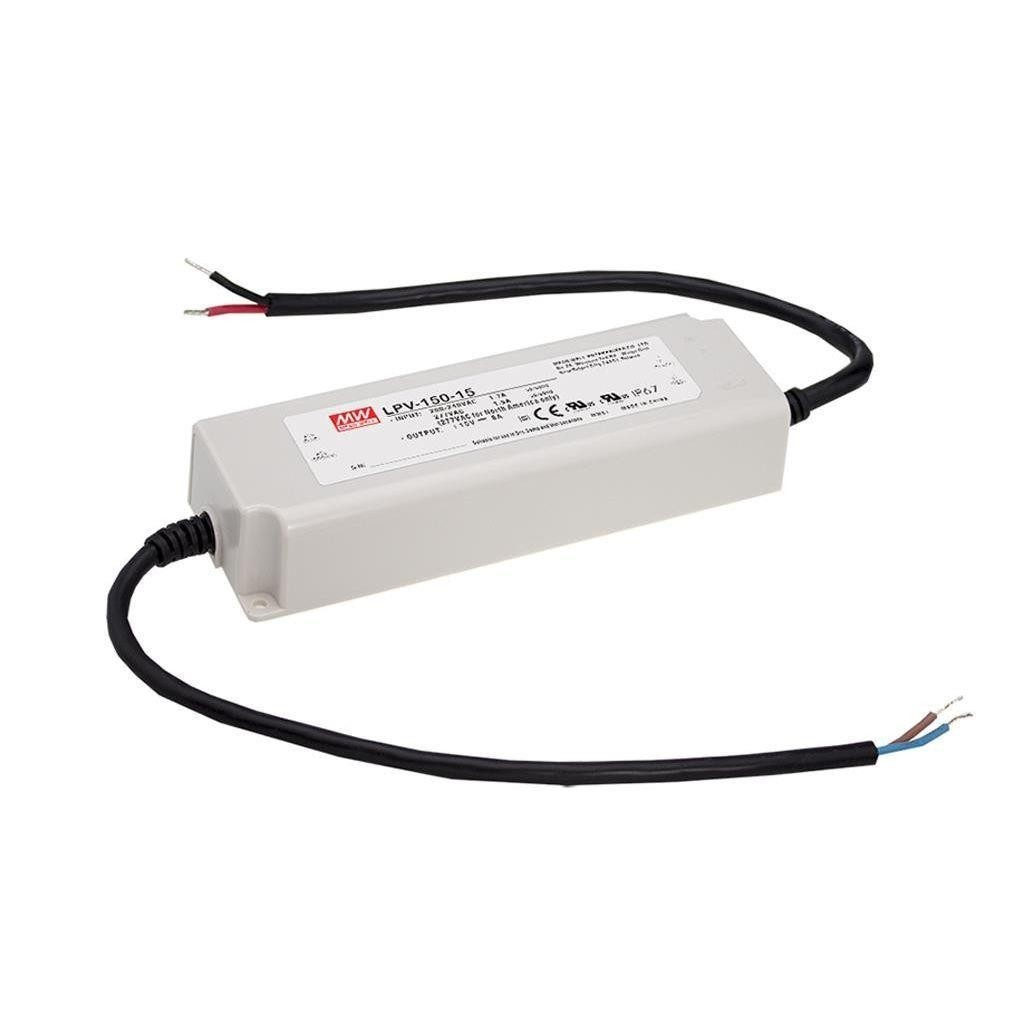 Alimentation Led Mean Well 15Vdc 150W IP67